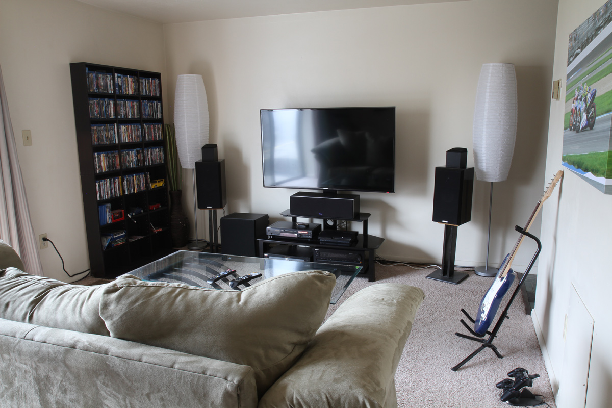 Energy C R100 Surrounds On Stands Home Theater